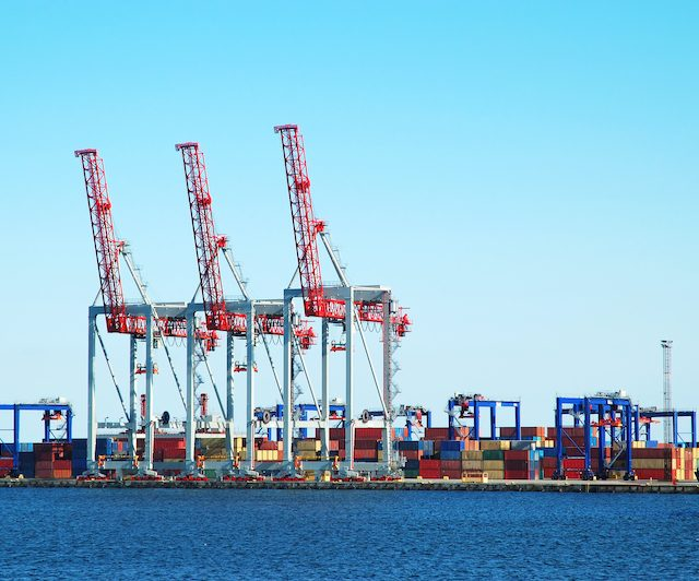 Volume Rates at Shipping Ports in 2021